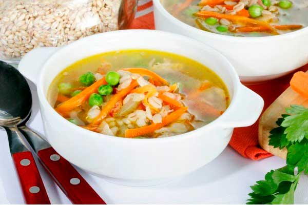 Перловый суп при гепатите
