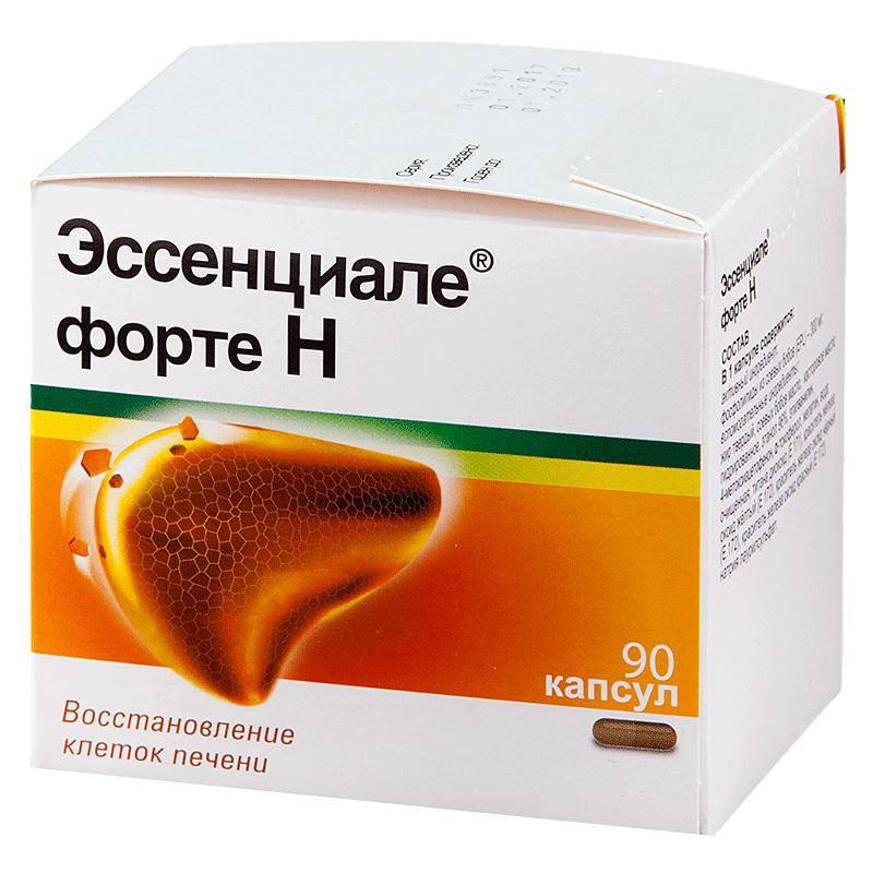 Препарат Эссенциале форте для лечения печени