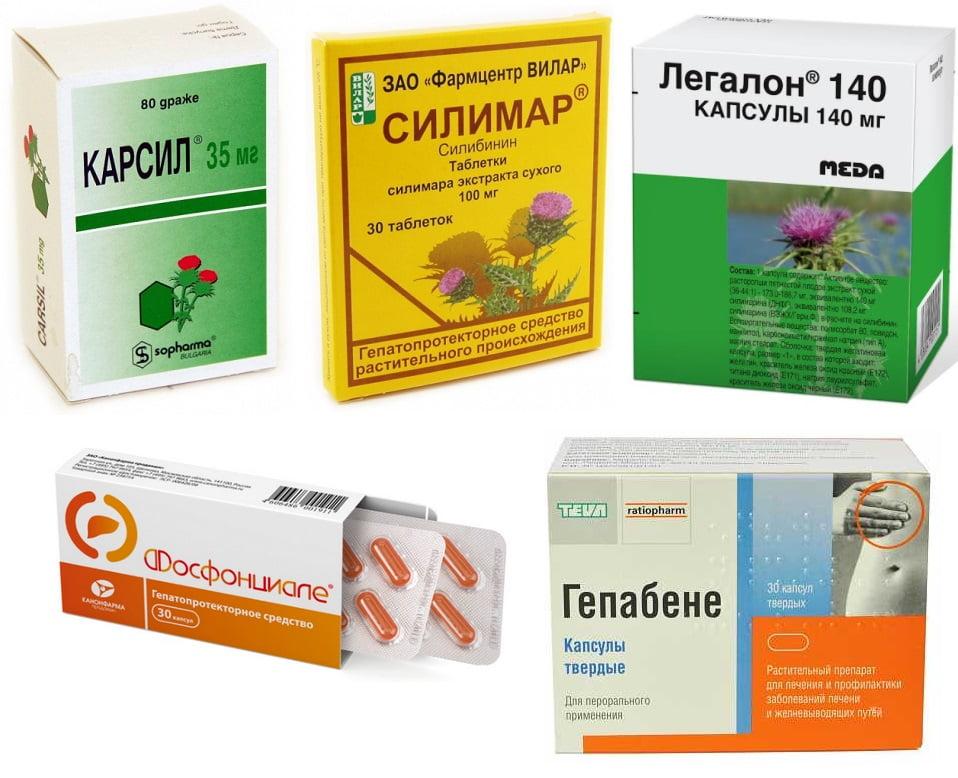 Применение расторопши в лекарствах