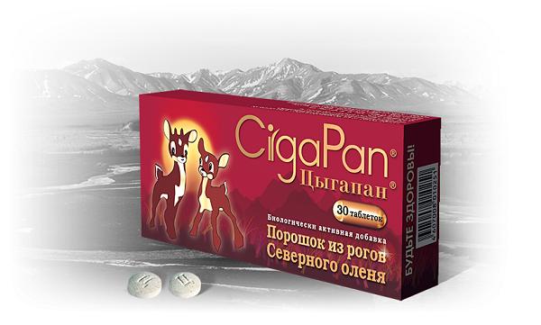 Таблетки Цыгапан