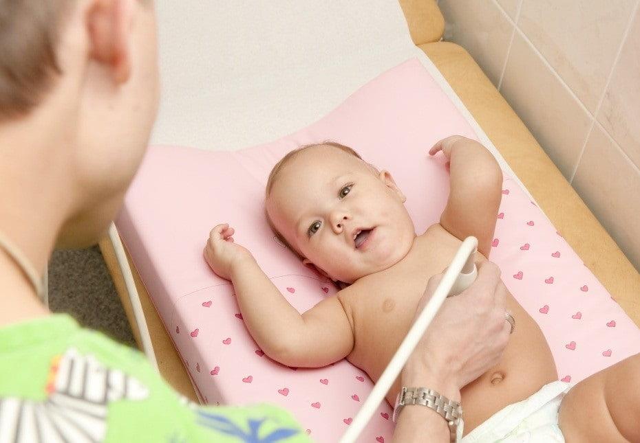 Диагностика увеличения печени у ребенка