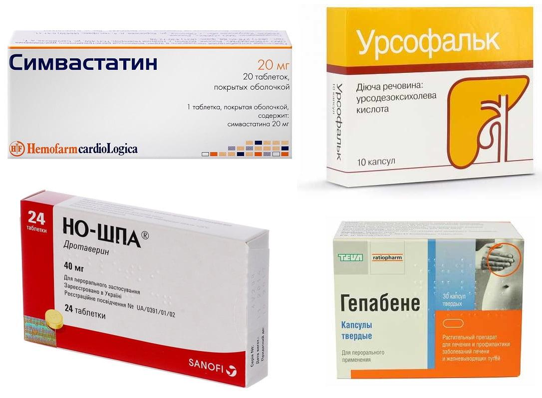 Лекарства против полипов в желчном пузыре