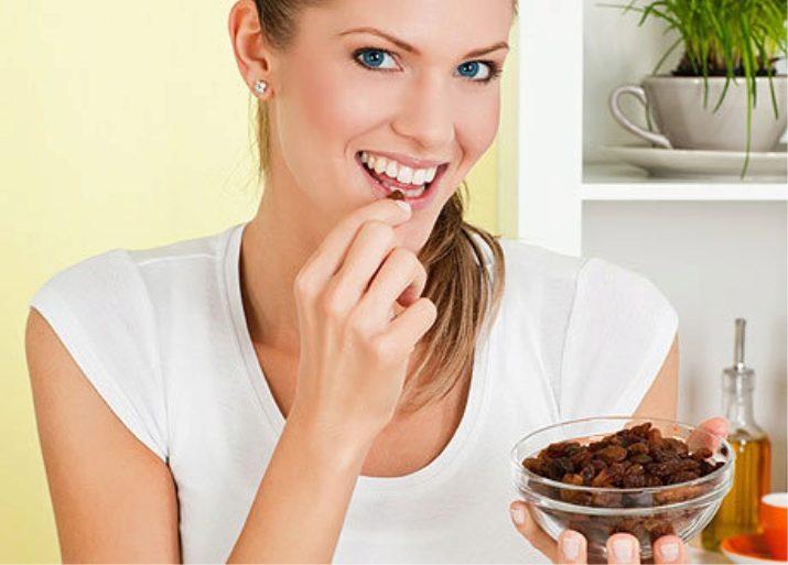 Польза и вред изюма для чистки печени