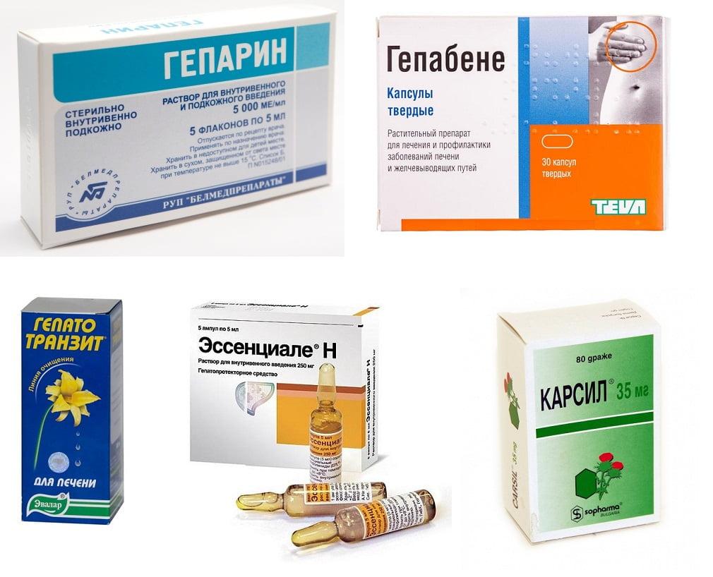 Препараты для очистки печени после алкоголя