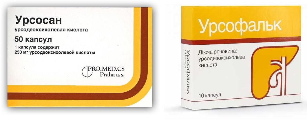 Препараты при приступе холецистита
