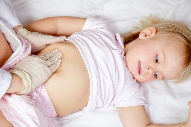 Увеличенная печень у ребенка