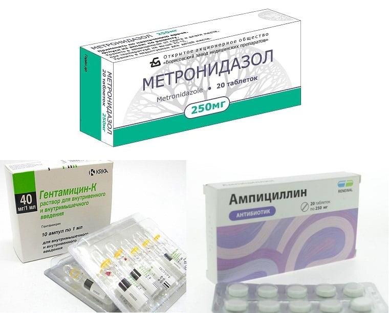Антибиотики при обострении холецистита